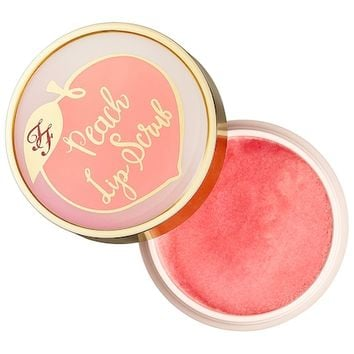 Peach Lip Scrub - Peaches and Cream Collection - Too Faced | Sephora