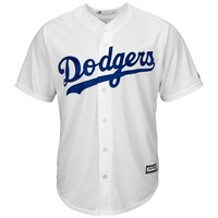 L.A. Dodgers Majestic 2015 Cool Base Jersey - White