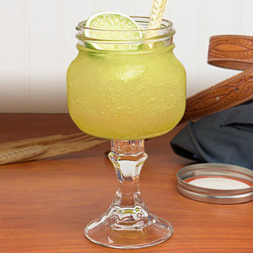 Redneck Margarita Glassware || 16 oz. Elite Widemouth Mason Jar