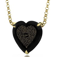 Black Gold Plated Chain Necklace Jewelry Set