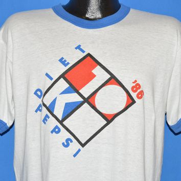 80s Seafair Diet Pepsi 10K Run 1986 t-shirt Large