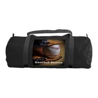 GymBag: Baseball Season Gym Duffel Bag