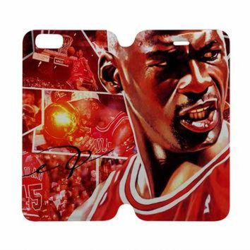 DCKL9 MICHAEL JORDAN Case Wallet iPhone 4/4S 5/5S 5C 6 Plus Samsung Galaxy S4 S5 S6 Edge Not