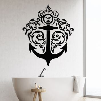 Vinyl Wall Decal Sea Ocean Style Nautical Sailor Ship Stickers (2600ig)
