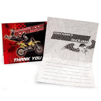 Tony Hawk's New Boom Boom HuckJam  Thank-You Notes (8)