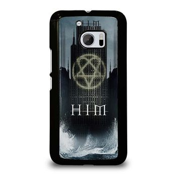 HIM BAND HEARTAGRAM  HTC One M10 Case Cover