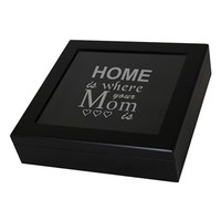 Cathy's Concepts 'Home Is Where Your Mom Is' Keepsake Box