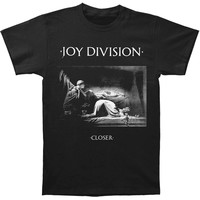 Joy Division Men's  Closer Slim Fit T-shirt Black