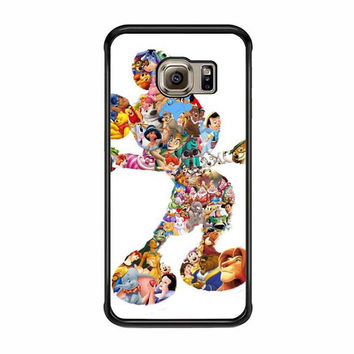 mickey mouse silhouette samsung galaxy s7 s7 edge cases