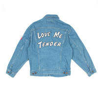 OPENING CEREMONY X ELVIS ELVIS VINTAGE JEAN JACKET - WOMEN - SALE - OPENING CEREMONY X ELVIS