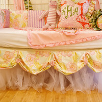Addison's Wonderland The Addison Baby Crib Skirt