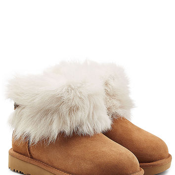 UGG Australia - Suede and Sheepskin Boots