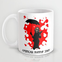 American Horror Story | Blood Spatter | Fiona Goode Mug by Silvio Ledbetter
