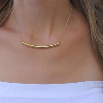 Gold-Plated 'Balance' Necklace
