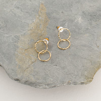 Darcie Stud, Gold Plated