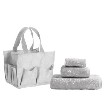 Deluxe Bath Beauty Set, Sunburst Stamp