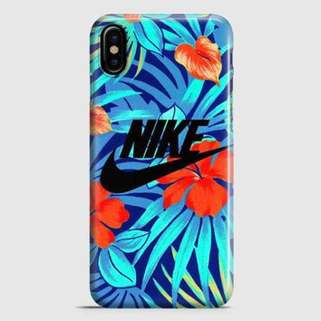 Nike Floral iPhone X Case
