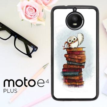 Hedwig Harry Potter Owl X4756 Motorola Moto E4 Plus Case
