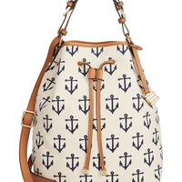 Tommy Hilfiger Monogram Allover Anchor Canvas Drawstring