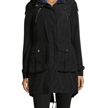 Helly Hansen - Snap-Front Belted Raincoat