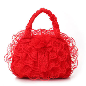Elegant Bridal Wedding Lace Handbags