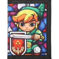 The Legend Of Zelda Stained Glass Wallet