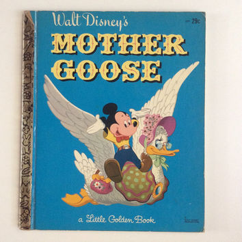 Walt Disney's Mother Goose - Vintage Little Golden Book