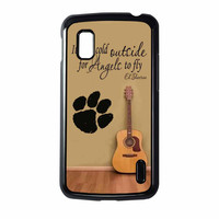 Ed Sheeran Guitar And Song Quotes Nexus 4 Case
