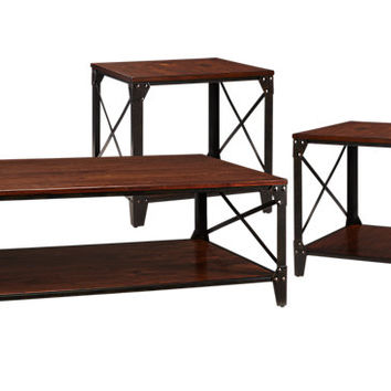 Lake Park 3 Pc Table Set - Table Sets