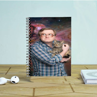 Bubbles Of Trailer Park Boys Galaxy Nebula Photo Notebook Auroid