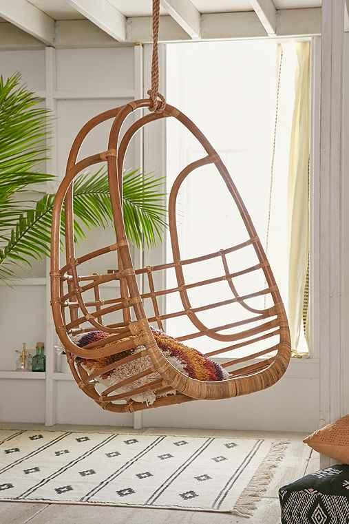 Charmant Tenley Rattan Swing Chair