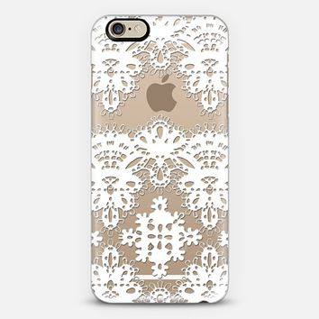 LACE ME HARDER - CRYSTAL CLEAR PHONE CASE iPhone 6 case by Nika Martinez | Casetify
