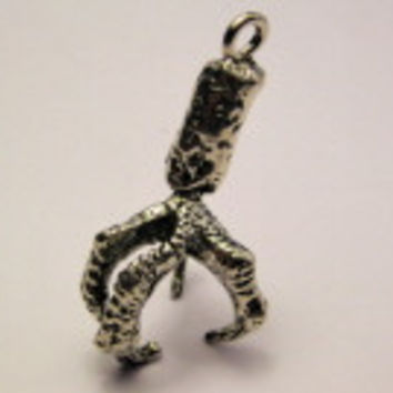 Eagle Claw Genuine American Pewter Charm