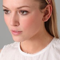 Juicy Couture Satin & Chain Headband