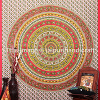 Large Elephants Mandala tapestries, Hippie hippy mandala, Bohemian Wall Hanging, Etchnic Decor Art, Cotton Bedspread, Queen Mandala tapestry