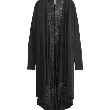 Draped cardigan - from H&M