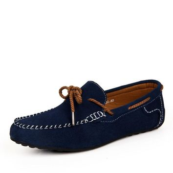 new 2016 men s luxury drivers loafers suede leather fashion blue sperry shoes designer  number 1