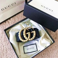 DCCK GUCCI female fashion pop buckle belt belt F