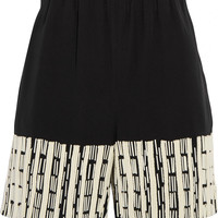 Maiyet Beaded silk shorts – 60% at THE OUTNET.COM