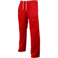 Chicago Bulls Zipway Ruler Tricot Pant – Red