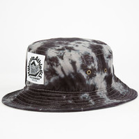 Milkcrate Athletics Electric Mens Bucket Hat Black/Grey One Size For Men 24800412701