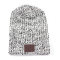 Black Speckled Beanie | Love Your Melon