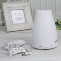 EiioX Mini White Aroma Atomizer Air Humidifier 7 LED Color Changing Ultrasonic Purifier Diffuser:Amazon:Home & Kitchen