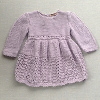 ZEFI Greece Knitted Dress (1y -3y)