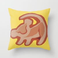 Simba / Lion King Throw Pillow by tshirtsz