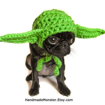 DOG COSTUME HALLOWEEN yoda star wars inspired by HandmadeMonster