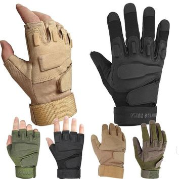 2017 Direct Selling Adult Gloves Blackhawk Hell For Usa Special Forces Tactical Gloves Slip Field Fighting Half- Finger