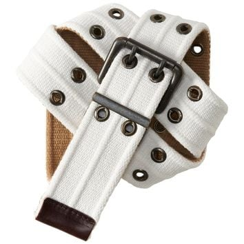 REVERSIBLE GROMMET BELT