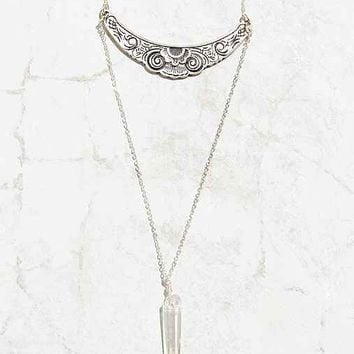 Secret Garden Crystal Necklace