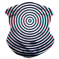 Optical Illusion Seamless Mask Bandana